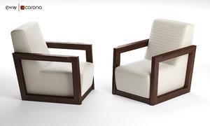 3D shriver armchair brayden studio