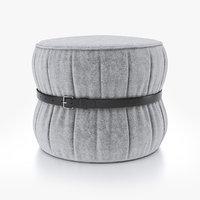 3D design pouf