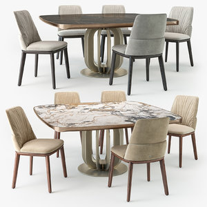 cattelan italia belinda chair 3D