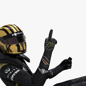 3D model nico hulkenberg 2019