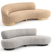 3D mini sofa vladimir kagan