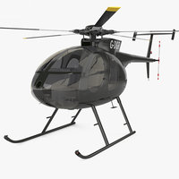 500 md helicopters 3D model