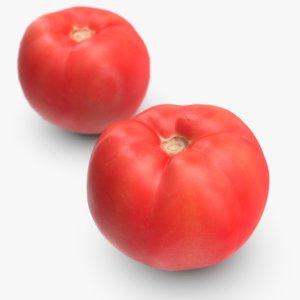 tomato polys 3D