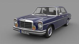1968-1975 mercedes benz w114 model