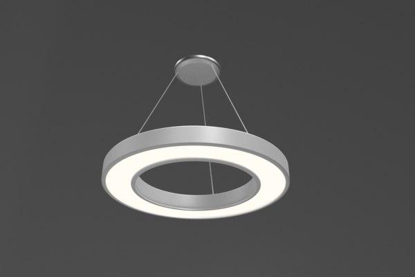 3D model ceiling lamp modeled