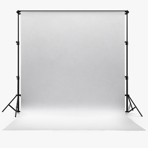 3D photography backdrop support model