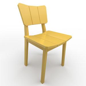 3D chair oppa model