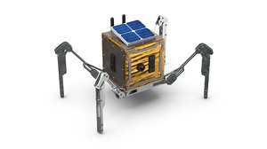 moon rover space 3D