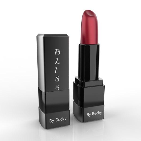 lipstick lip 3D model