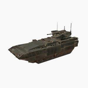 3D t-15 armata fighting vehicle model
