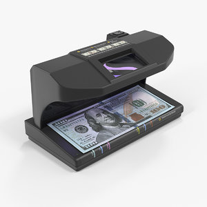 ultraviolet bill detector 3D model