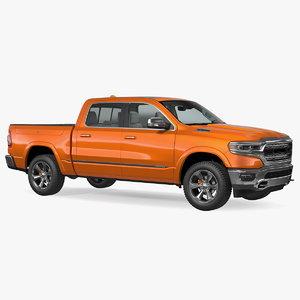 pickup truck generic 3D model