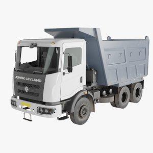 ashok leyland truck 3D model