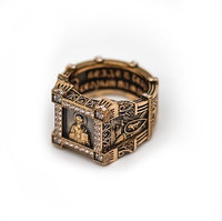 3D jewellery ring st nicholas
