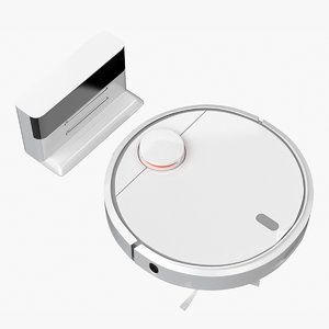 3D model xiaomi mi robot vacuum cleaner