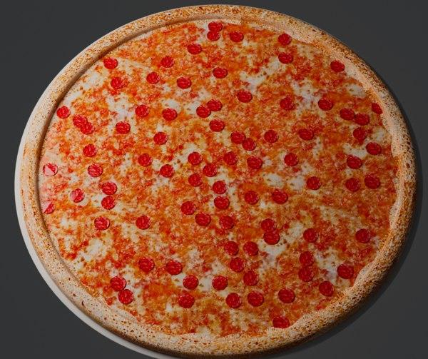 3D domino pizza