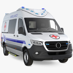 ambulance van generic model