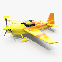 3D sport aerobatic aircraft generic model
