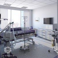Patients Room 3D model