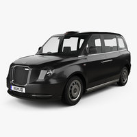 3D model levc tx taxi