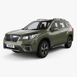 subaru forester touring 3D