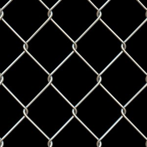 3D wire fence model