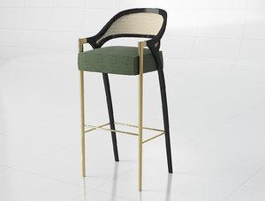 bar stool mondo 3D