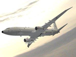 maritime aircraft p-8a poseidon 3D model