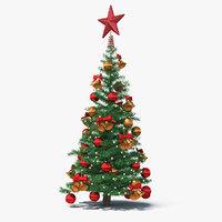 Small Holiday Christmas Tree