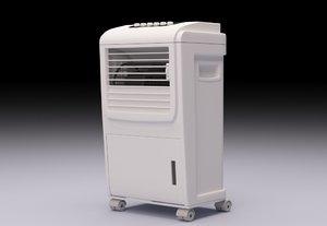 small evaporative cooler 3D model