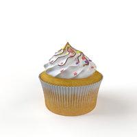 3D cupcake marshmallows