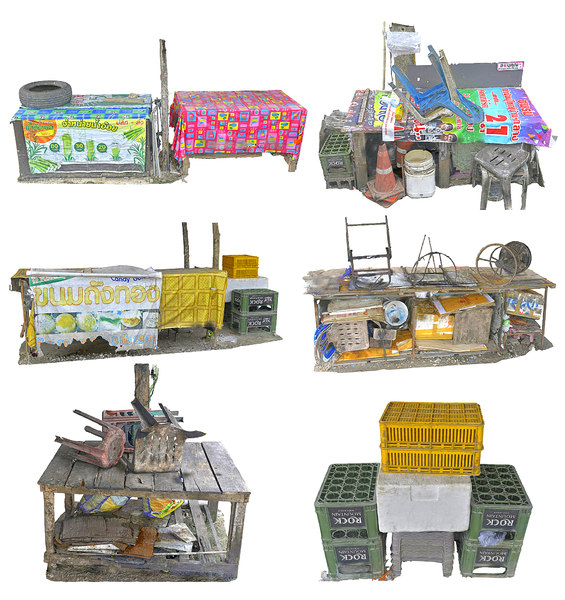night market pack 3D