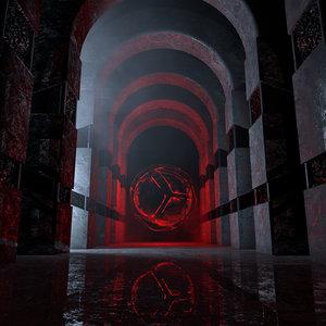 concepts majestic dark occult 3D model