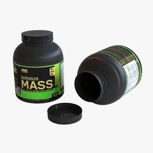 3D mass gainer