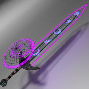 sword mobile games 3D model