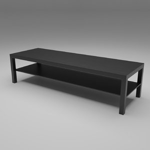 3D model coffee table generic