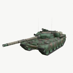 chieftain mk5 main battle tank 3D model