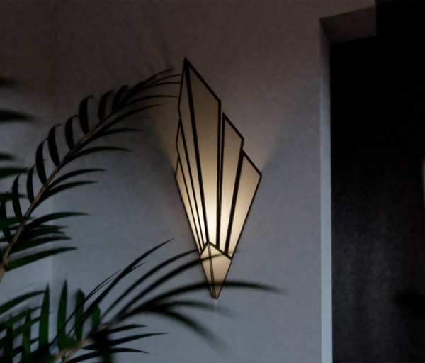wall light 3D