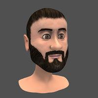 Man Face C