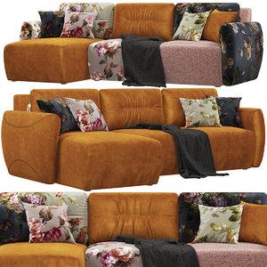 3D felis murakami sofa