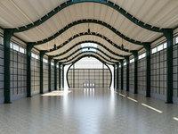 3D modeled warehouse 4