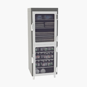 3D medical cabinet model
