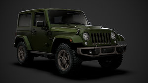 jeep wrangler 75th anniversary 3D model