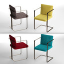 3D s2 murena armchair lazzarini model