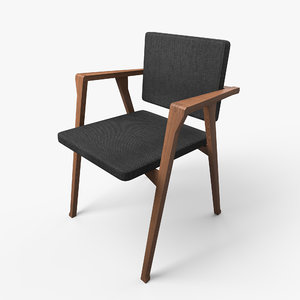 luisa chair 3D model