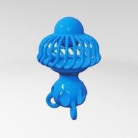 sculptures abstract art 3D