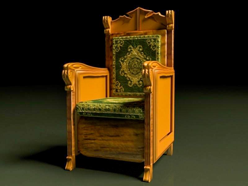 king throne 2 model