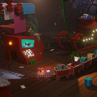 Santa christmas factory