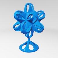sculptures abstract art model