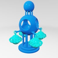 sculptures abstract art 3D model
